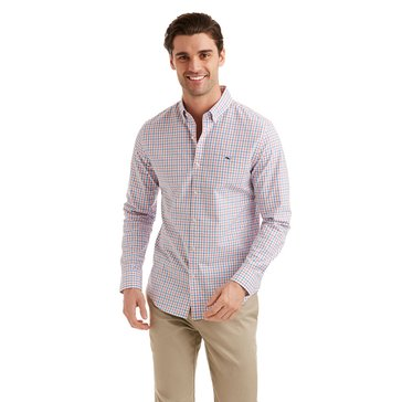 Vineyard Vines Men's Sandy Cay Slim Check Sportshirt