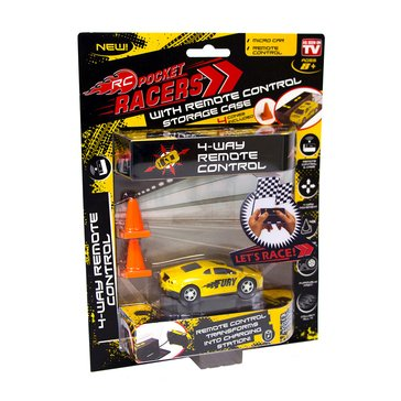 As Seen On TV Pocket Racers Micro Remote Control Cars
