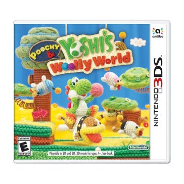 3DS Poochy & Yoshi's Woolly World (Stand Alone)
