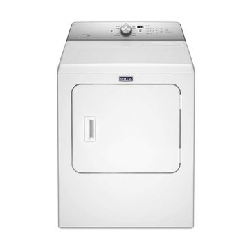 Maytag 7.0-Cu.Ft. Gas Dryer, White (MGDB766FW)