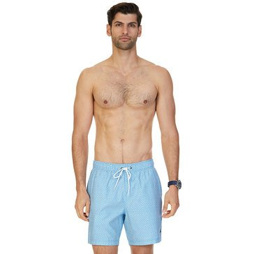 Nautica Men's Micro-Geometric Swim Trunks