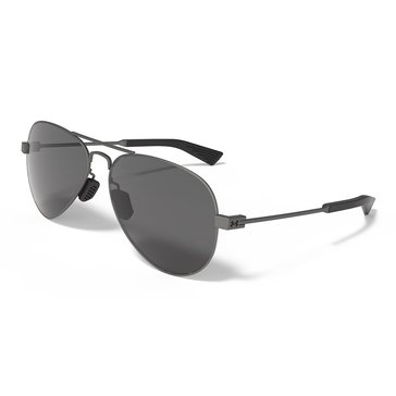 Under Armour Getaway Gunmetal With Gray Lens Sunglasses