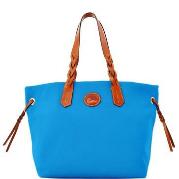 Dooney & Bourke Nylon Shopper Tote French Blue