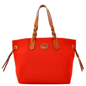 Dooney & Bourke Nylon Shopper Tote Tomato