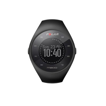 Polar M200 GPS Heart Rate Monitor Running Watch - Black