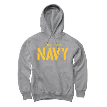 The Game Men's U.S. Navy Reverse Applique Fleece Hoodie