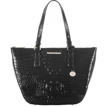 Brahmin Willa Carryall Tote Black Melbourne