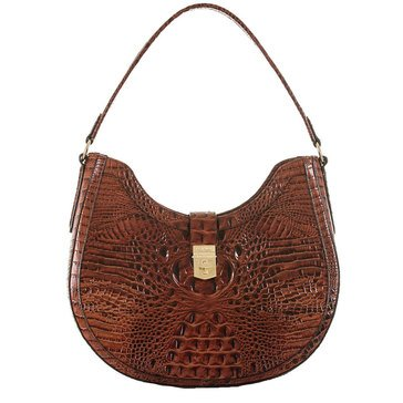 Brahmin Bethany Shoulder Bag Pecan Melbourne