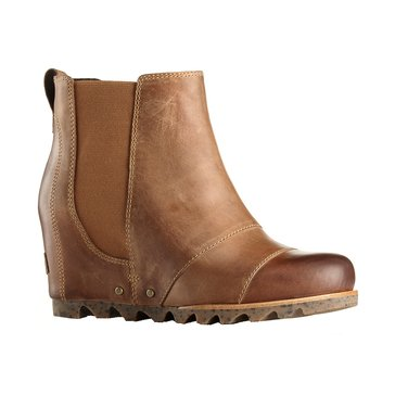 Sorel Lea Wedge Women's Waterproof Slip On Bootie Elk
