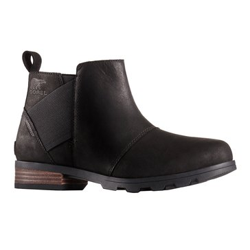 Sorel Emelie Chelsea Women's Waterproof Leather Bootie Black