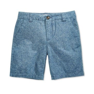 Epic Threads Little Boys' Chambray Shorts, Medium Wash