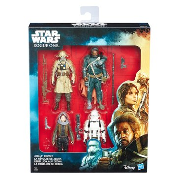 Star Wars Rogue One Jedha Revolt 4-Pack