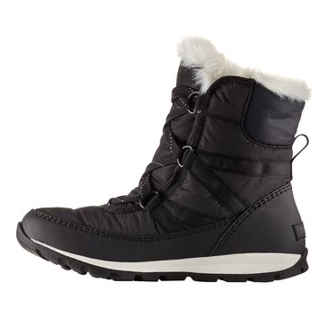 Sorel Whitney Short Lace Women's Waterproof Insulated Boot Black