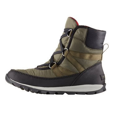 Sorel Whitney Women's Short Lace Waterproof Insulated Boot Nori