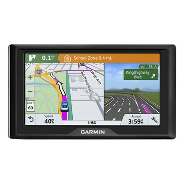 Garmin Drive 61LMT-S GPS with Lifetime Map and Traffic Updates for North America and Canada (010-01679-0C)