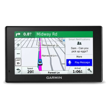 Garmin DriveSmart 51LMT-S GPS with Built-in Bluetooth, Lifetime Map and Traffic Updates (010-01680-02)
