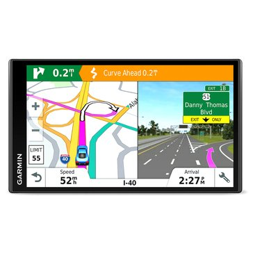 Garmin DriveSmart 61LMT-S GPS with Built-in Bluetooth, Lifetime Map and Traffic Updates (010-01681-02)