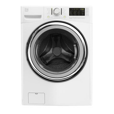 Kenmore 4.5-Cu.Ft. Front Load Washer with Accela Wash, White (26-41302)