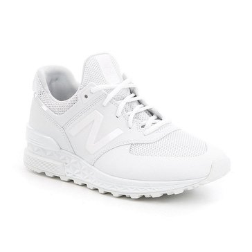 New Balance MS574SWT Men's Running Shoe White/ White