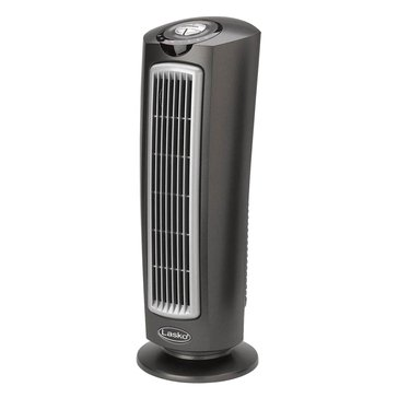 "Lasko 24"" Space-Saving Oscillating Tower Fan with Remote Control (T24500)"