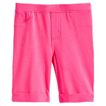 Epic Threads Little Girls' Solid Bermuda Shorts, Pink
