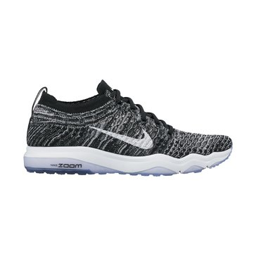 Nike Air Zoom Fearless Flyknit Women's Training Shoe Black/ White