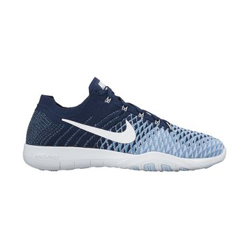 Nike Free TR Flyknit 2 Women's Training Shoe College Navy/ White/ Work Blue
