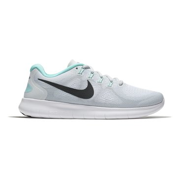 Nike Free RN 2 Women's Running Shoe White/ Anthracite/ Pure Platinum