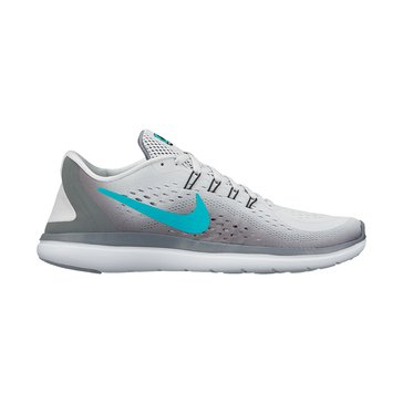 Nike Flex 2017 RN Women's Running Shoe Pure Platinum/ Clear Jade/ Cool Grey/ Black