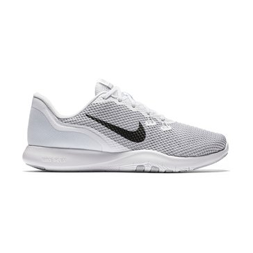 Nike Flex Trainer 7 Women's Training Shoe White/ Metallic Silver/ Pure Platinum