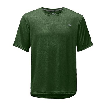 The North Face Men's Reaxion Amp Crew - Green Heather