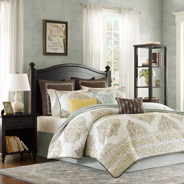 Miramar 4-Piece Comforter Set - Queen