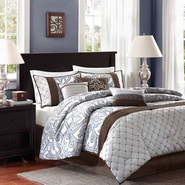 Crosby 7-Piece Comforter Set - King
