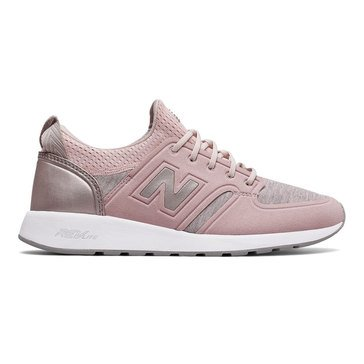 New Balance WRL420SE Women's Running Shoe Faded Rose/ Champagne Metallic
