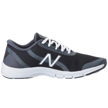 New Balance WX711KM3 Women's Training Shoe Black/ Alpha Pink