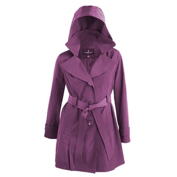 London Fog Women's Trench Fashion Jacket