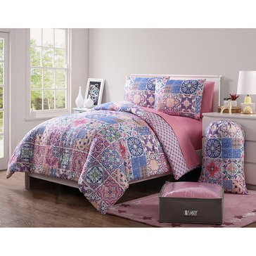 Azulejos 11-Piece Comforter Dorm Kit - Full