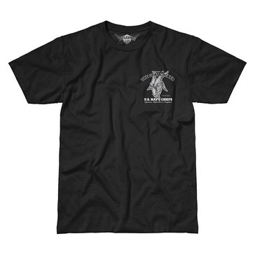 7.62 Men's U.S. Navy Chief Short Sleeve The Goat Locker Tee
