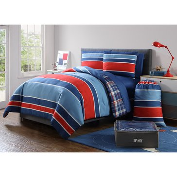 Jeff 11-Piece Comforter Dorm Kit - Full