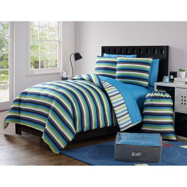 Darby 11-Piece Comforter Dorm Kit - Full