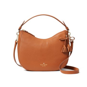 Kate Spade Hayes Street Small Aiden Shoulder Bag Warm Cognac