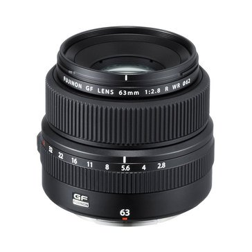 Fuji GF 63mm f/2.8 R WR Lens for GFX Medium Format System (600018250)