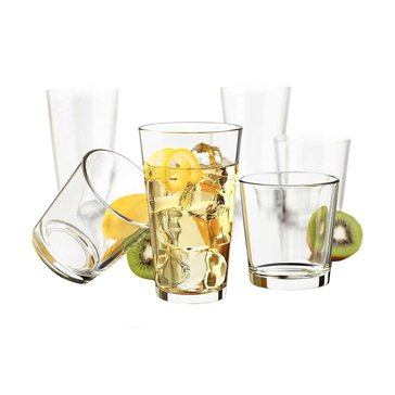 Libbey Flare 16-Piece Beverage Set