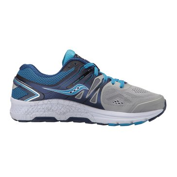 Saucony Omni 16 Women's Running Shoe Grey/ Blue
