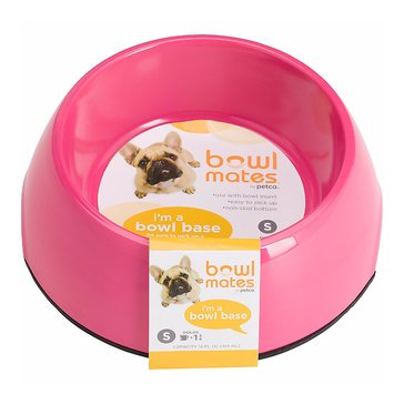 Bowlmates 7-Cup Round Base, Pink