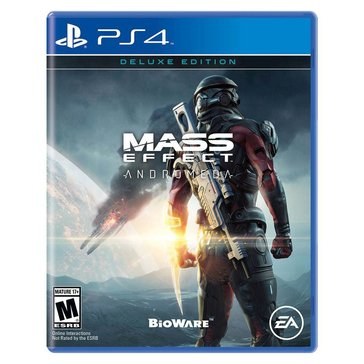 PS4 Mass Effect Andromeda Deluxe Edition