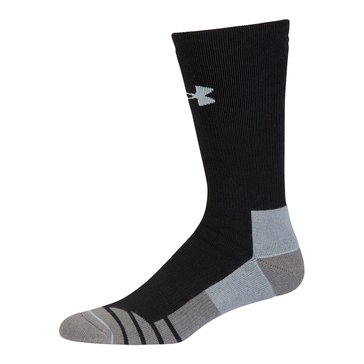 Under Armour Men's Cold Gear Hitch Heavy Boot Socks 1-Pack - Black/Steel
