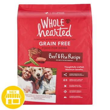 WholeHearted All Life Stages Dog Food - Grain Free, Beef & Pea, 25 lbs.