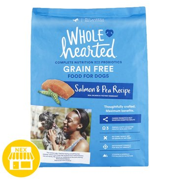 WholeHearted All Life Stages Dog Food - Grain Free, Salmon & Pea, 25 lbs.