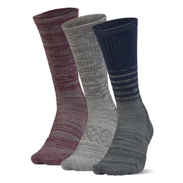Under Armour Men's Phenom Twisted Crew Socks 3-Pack - Mid Navy Assorted